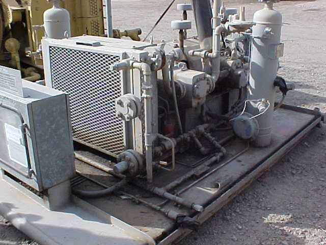 compressor vent side view