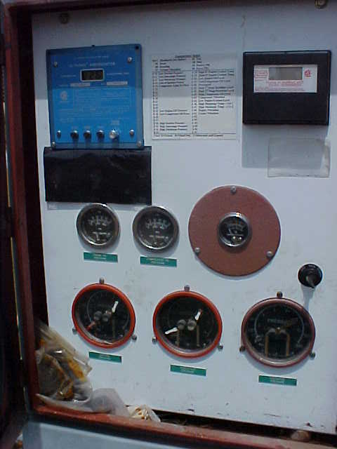 compressor panel side view