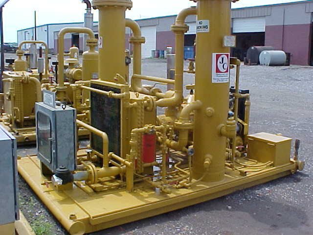 compressor side view