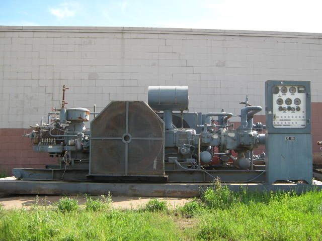 compressor next to building